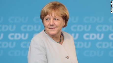Angela Merkel seeks fourth term in Germany