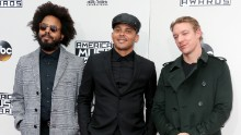 Jillionaire, Walshy Fire and Diplo of  Major Lazer attend the 2016 American Music Awards in 2016