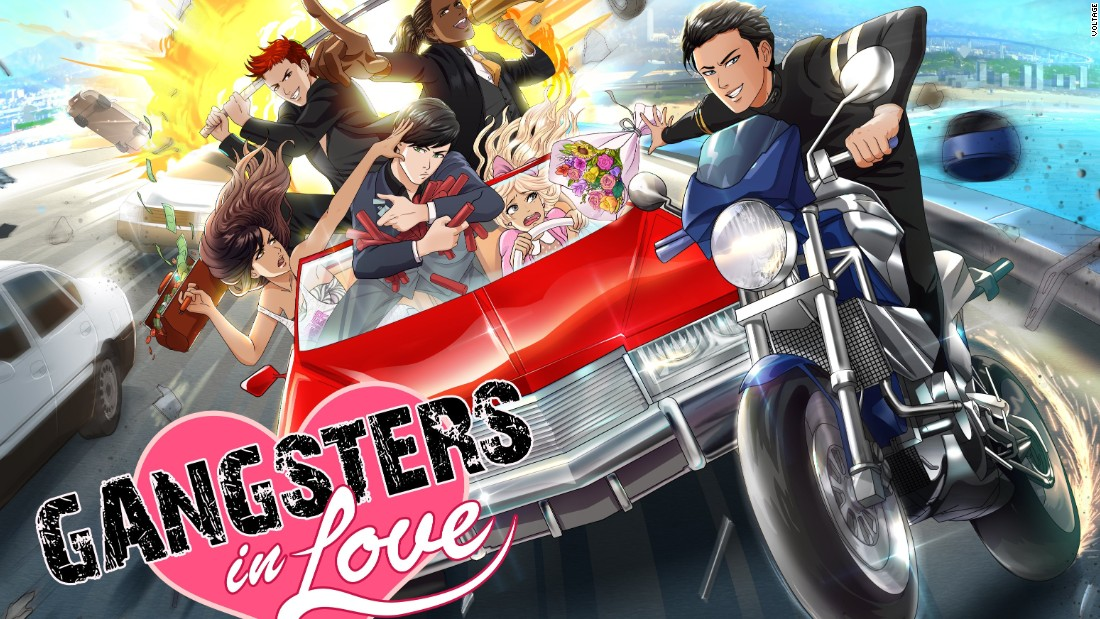 "Dangerous gangsters make for irresistible romantic flings in ""Gangsters in Love""."