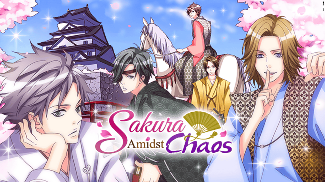 "Taking place at a time of deep unrest in Japan, ""Sakura Amidst Chaos"" combines danger, love and heroic warriors. As the warlords vie for power, you're courted by various with strong samurai suitors who show their softer sides."