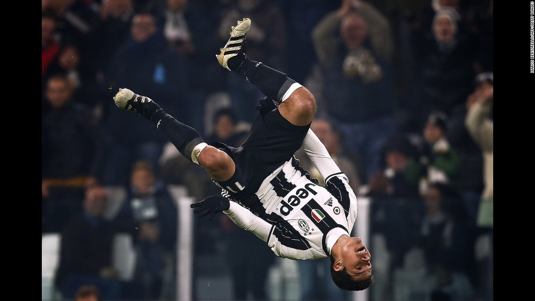 Juventus midfielder Hernanes celebrates a goal against Pescara during an Italian league match in Turin on Saturday, November 19. Juventus won 3-0.