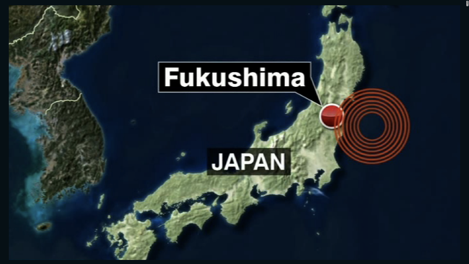Magnitude Earthquake Strikes Off Japan CNN - Japan map hd