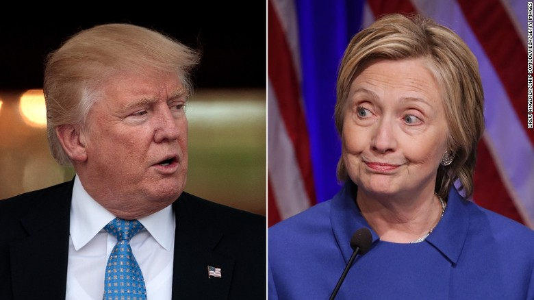 Clinton and Trump aides clash
