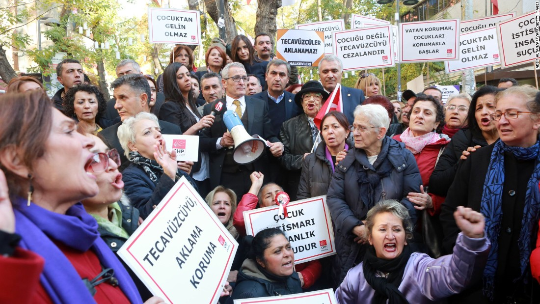 Turkey withdraws proposed child rape bill following outrage