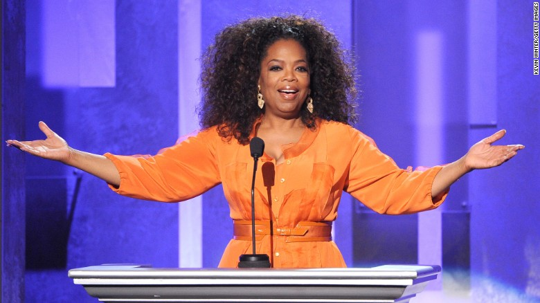 Donald Trump has addressed the idea of Oprah in the White House