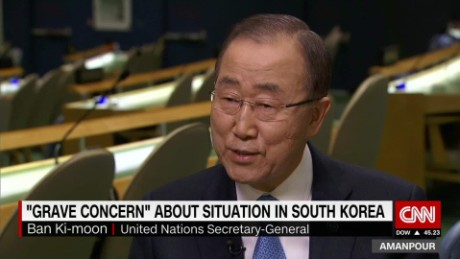 united nations intv amanpour ban ki moon south korea_00013901