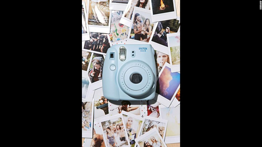 "For the friend that loves to snap away, check out this Fujifilm Instax Mini 8 Camera. It's a celeb favorite and it starts at $99.<a href=""https://www.shopmixology.com/products/fujifilm-1fujins8m-instax-mini-8-camera-blue"" target=""_blank""> Click here to check out all the colors it comes in. </a>"