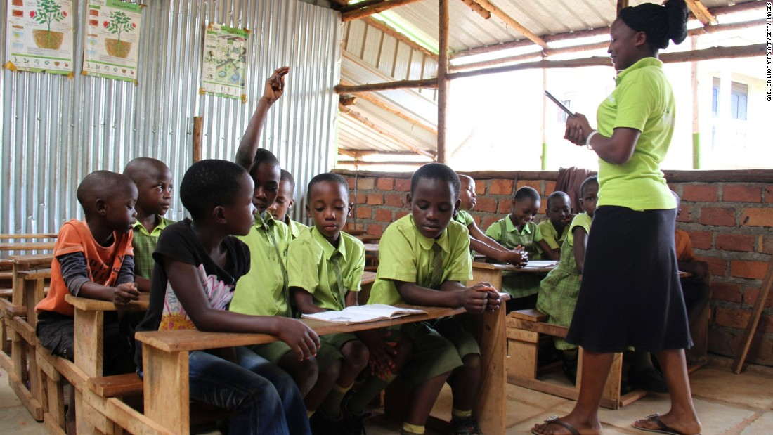 Bridge International Academies said it provides the 'best possible education' to its students and that it 'will do whatever it can' to make sure their schools continue to operate in Uganda.
