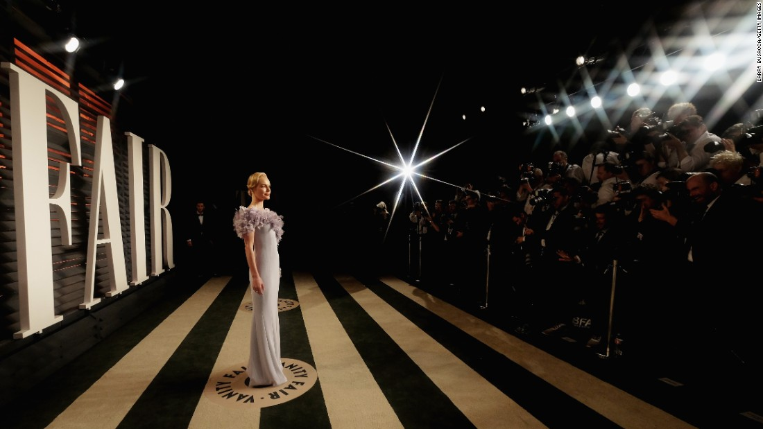 Actress Kate Bosworth attends the Vanity Fair Oscar Party on Sunday, February 28.