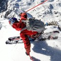 extreme skier jeremie heitz sharp turn