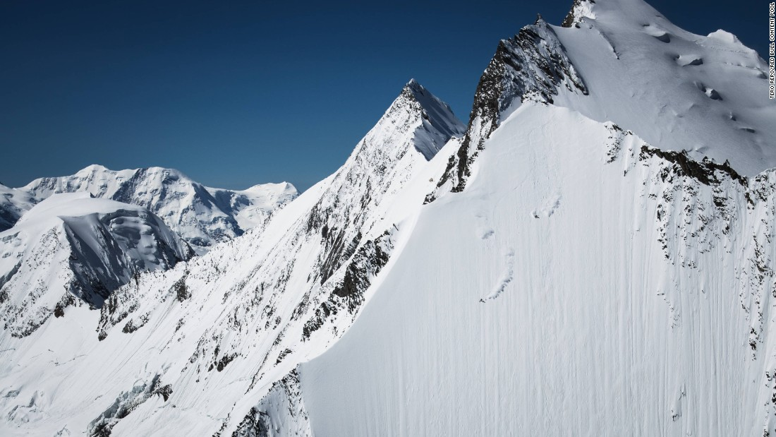 Jeremie Heitz is one of the world's foremost extreme skiers, known for his aggressive, fast-paced approach.