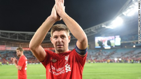 Former Liverpool star Steven Gerrard spotted Alexander-Arnold's talent from a young age