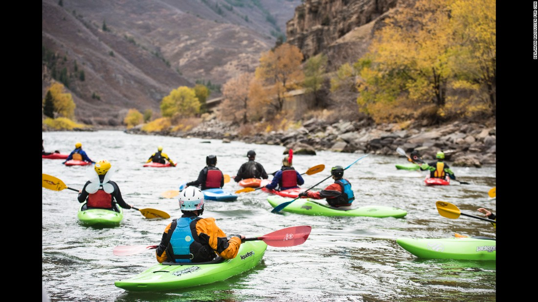 "The First Descents program gives each participant a nickname for the week. ""It's the name of them as a kayaker, or a climber or a surfer. It's not the name of them as someone with cancer. And so it's an opportunity for a fresh start,"" Ludden said."