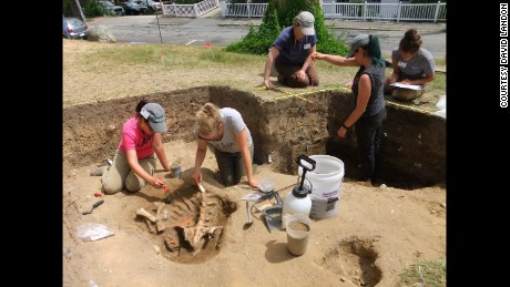 UMass Boston researchers believe they have located the elusive 1620 Plymouth settlement.