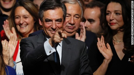 French conservatives have picked Francois Fillon as their presidential candidate in next year's election.
