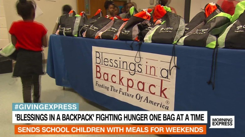 Blessings in a Backpack fights child hunger