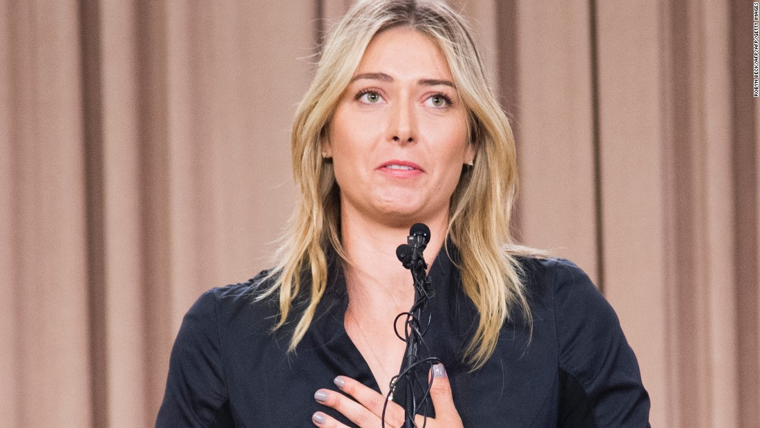 "Maria Sharapova, for the first time since turning pro, dropped out of the rankings. That was because the Russian is <a href=""http://edition.cnn.com/2016/10/04/tennis/tennis-sharapova-cas-drugs/"">serving a drug suspension</a>."
