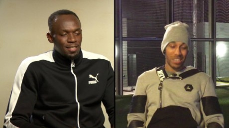 Bolt vs. Aubameyang: who wins in a 30m race?