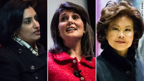 The three women of color Trump has appointed, so far