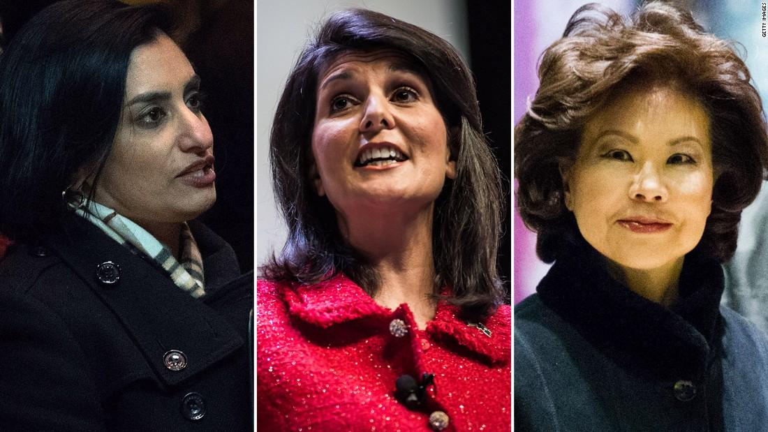 The three women of color Trump has appointed so far - CNNPolitics
