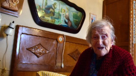 Emma Morano is the only person alive who was born in the 1800s.