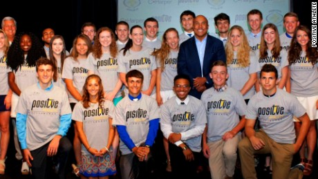 Positive Athlete is a non-profit organization that provides scholarships to high school athletes.