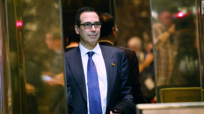 Steve Mnuchin in 90 seconds