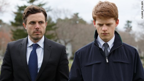 Casey Affleck and Lucas Hedges in a scene from 'Manchester by the Sea.'