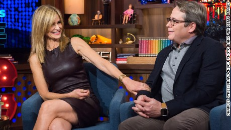 "Kyra Sedgwick and Matthew Broderick admit to a dating past on ""Watch What Happens Live."""