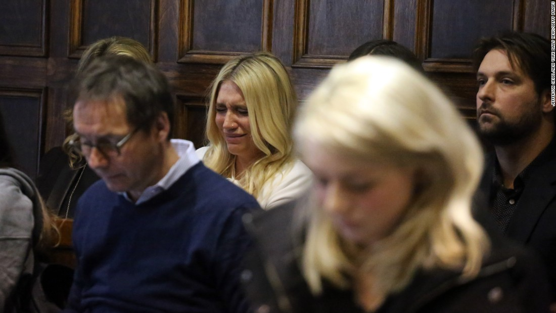"Kesha cries Friday, February 19, as a New York Supreme Court judge <a href=""http://www.cnn.com/2016/02/20/entertainment/kesha-dr-luke-lawsuit-injunction-support-feat/"" target=""_blank"">denied an injunction</a> that would have allowed the singer to make music outside her six-album contract with Kemosabe Records. In 2014, Kesha filed suit against the record label's megaproducer, Dr. Luke, accusing him of emotional and sexual abuse. Dr. Luke (Lukasz Gottwald) has vigorously denied the allegations, and he countersued Kesha, her mother and manager for defamation and breach of contract. A judge dismissed Kesha's sexual abuse claims in April, but the singer said <a href=""http://www.cnn.com/2016/08/02/entertainment/kesha-drops-case-against-dr-luke/"" target=""_blank"">she would continue to pursue appeals.</a>"