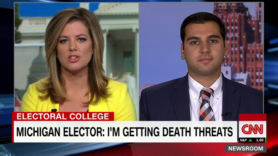 Electoral College voter: I'm getting death threats