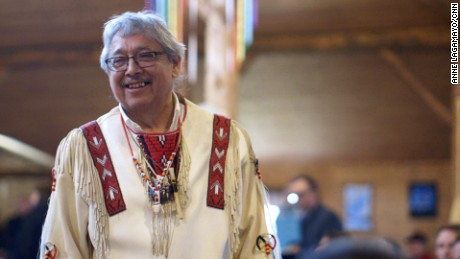 Elder Dave Courchene Jr. says his first sweat ceremony, in his 20s, was the beginning of his spiritual journey.