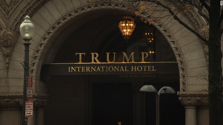 Are diplomats lining up at Trump Hotel to curry favor?