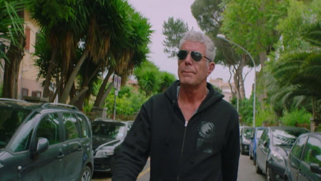 Bourdain explores the 'real Rome'