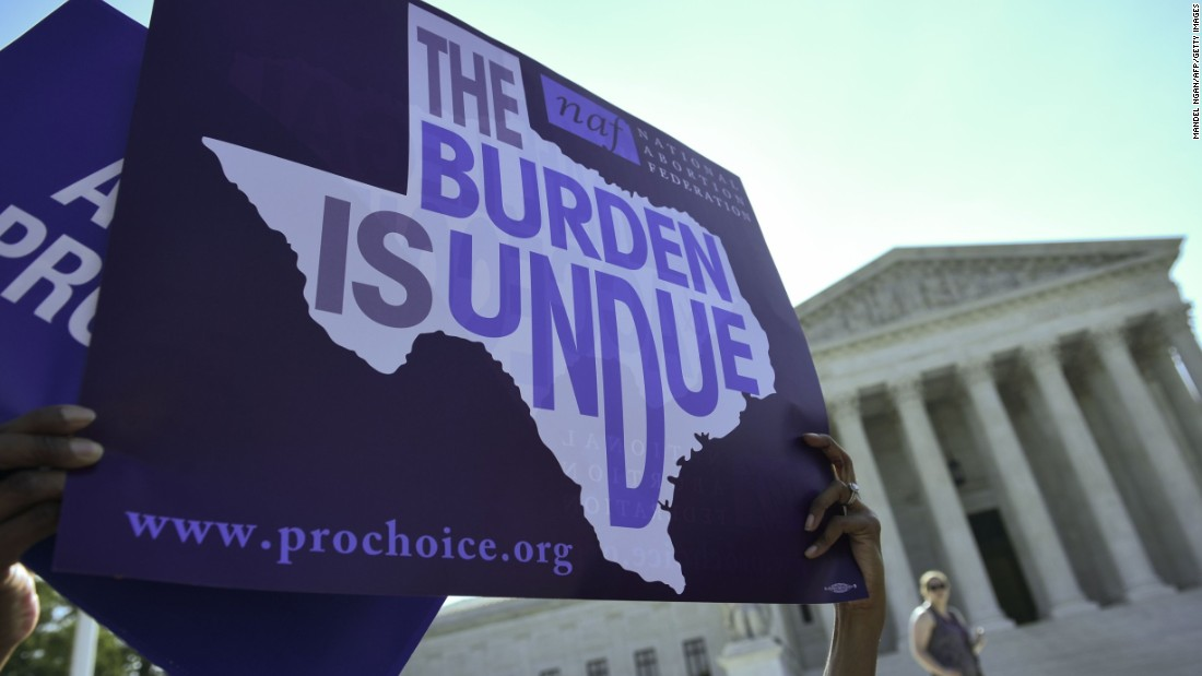 "In a dramatic ruling, the Supreme Court on June 27 t<a href=""http://www.cnn.com/2016/06/27/politics/supreme-court-abortion-texas/index.html"" target=""_blank"">hrew out a Texas abortion access law</a> in a victory to supporters of abortion rights who argued it would have shuttered all but a handful of clinics in the state."