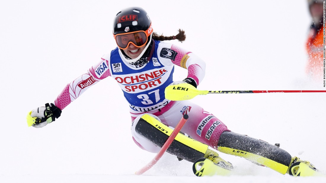 American skier Lila Lapanja (pictured) is a member of the US Alpine B Ski Team. At her level, Lapanja has to pay her own travel expenses. Considering the global nature of the tour -- which counts South Korea, Canada and Italy as some of its venues -- the costs can mount up.