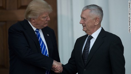 Trump's generals forged ties in battle
