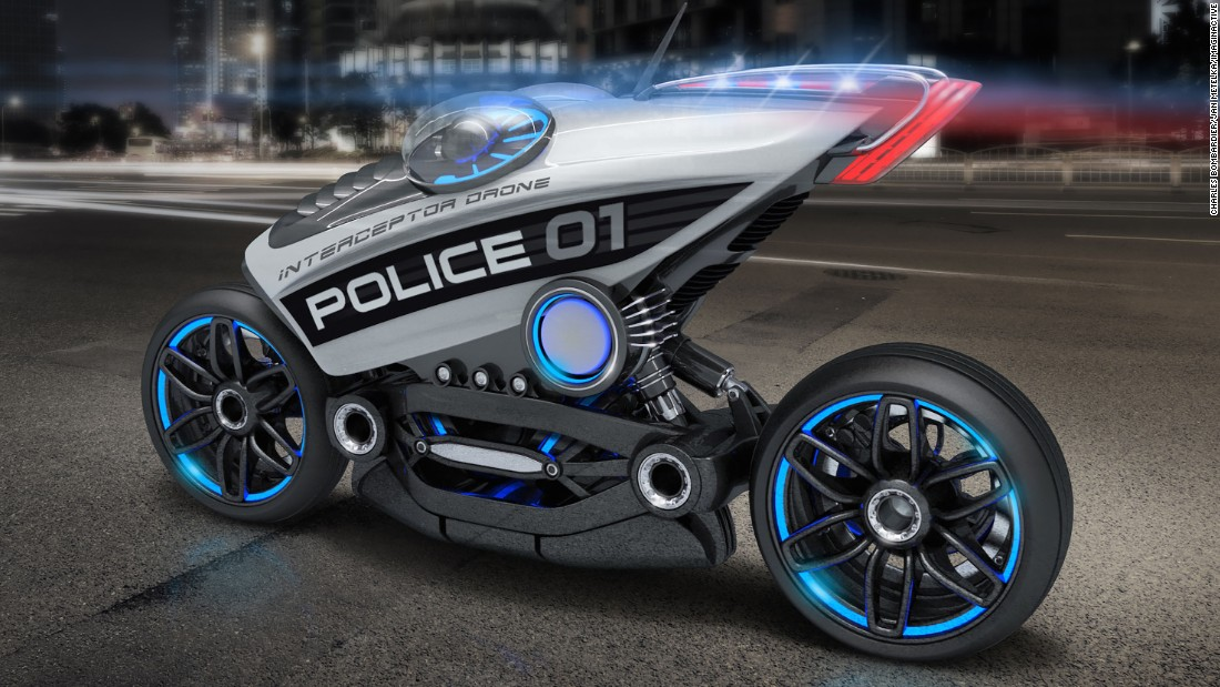 Police Superbikes The New Breed Of Driverless Vehicles