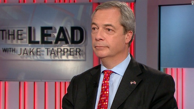 Farage: Populist movements aren't racist