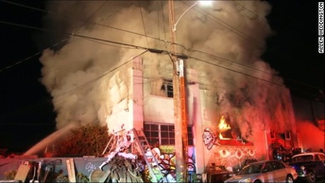 Oakland warehouse party fire