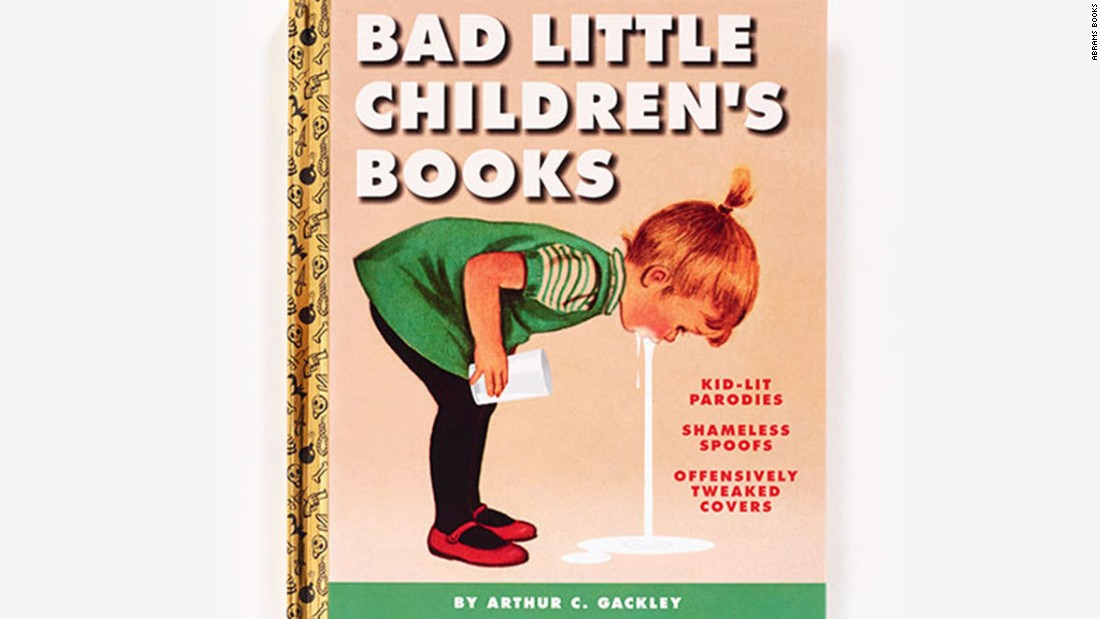 Book Cover Design Child : Outrage over satirical children book covers cnn