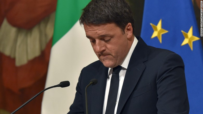 Italy's PM resigns after referendum fails