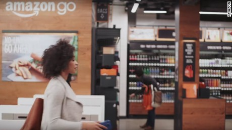 cnnmoney amazon go store