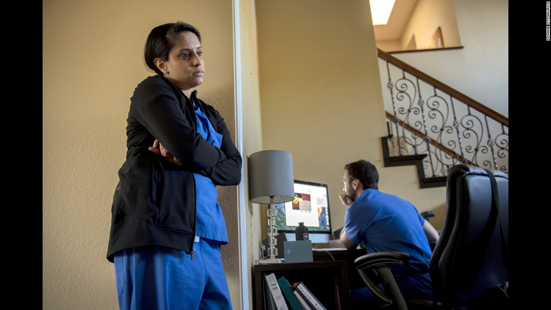 """Every night, Jake and I make a list of what we're going to tackle tomorrow,"" says Aashni's mom Aditi, referring to her husband. The Redwood City, California, couple says they spend 10 hours per week figuring out insurance and scheduling appointments. Both Aditi and Jake are doctors, but Aditi says she'd rather be Aashni's mom, and not her doctor, too."