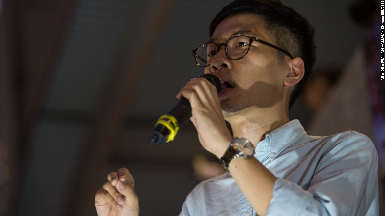 Hong Kong's Umbrella Movement leader vows to fight