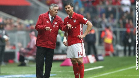 Carlo Ancelotti took charge of Bayern Munich ahead of the 2016-17 season, replacing Pep Guardiola.