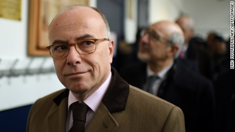 French Prime Minister Bernard Cazeneuve says a state of emergency should be extended for six months.