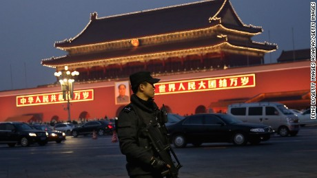 Human rights group slams China's crackdown