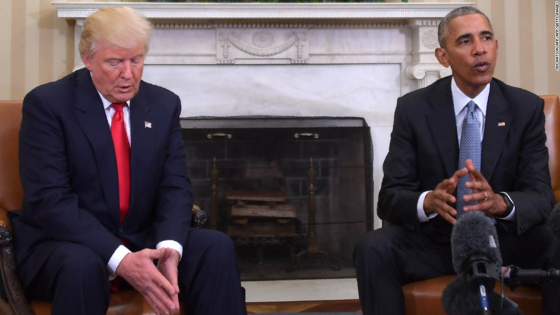Donald Trump seeks Obama advice on appointments