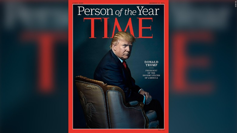 Donald Trump is Time's Person of the Year